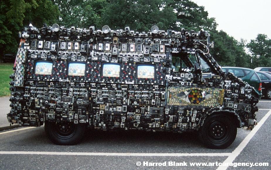 Camera Van Art Car – Harrod Blank | Independent Filmmaker
